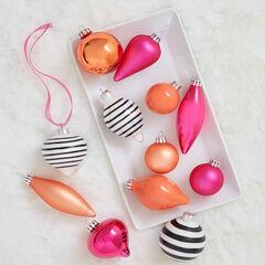 24-Pc. Cosmo Ornament Set,