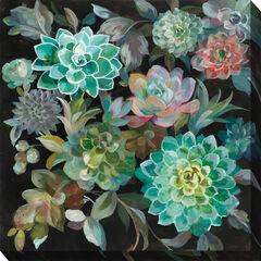 Succulent Fanfare Wall Art,