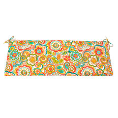 Outdoor Bench Cushion, BRONWOOD CARNIVAL