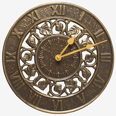 Ivy Silhouette Clock ,