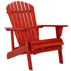 Solid Wood Adirondack Chair,