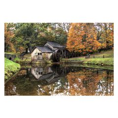 Old Mill Outdoor Canvas Art,