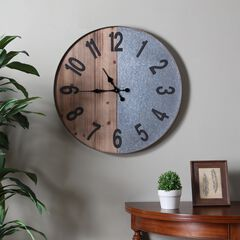 Gallen Industrial Wall Clock,