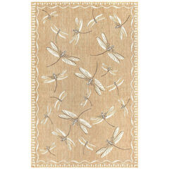Liora Manne Carmel Dragonfly Indoor/Outdoor Rug,