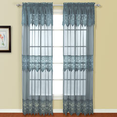 Valerie Panel with Attached Valance,