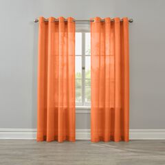BH Studio Savannah Grommet Panel, TANGERINE