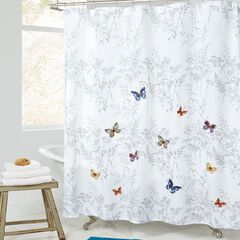 Butterfly Shower Curtain,