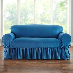 Loveseat Slipcover, BLUE