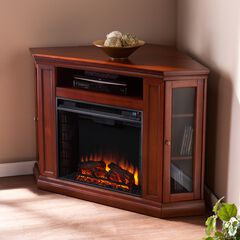 Claremont Convertible Media Electric Fireplace,