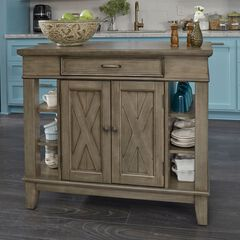 Mountain Lodge Kitchen Island by Home Styles,