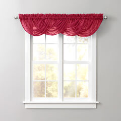BH Studio Sheer Voile Toga Valance,