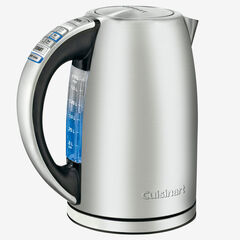 Cuisinart PerfectTemp Cordless Electric Kettle, STAINLESS STEEL