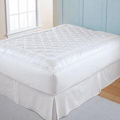 300-TC Dobby Stripe Mattress Pad,