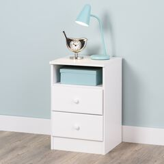 Astrid 2-Drawer Nightstand,