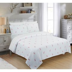 Flamingo Coverlet,
