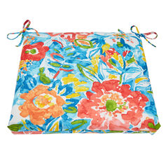Patio Chair Cushion, POPPY BLUE