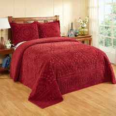 Rio Collection Chenille Bedspread by Better Trends,