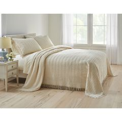 Wave Chenille Bedspread,
