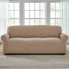 BH Studio® Stretch Diamond Extra-Long Sofa Slipcover,