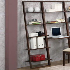 Arlington Wall Bookcase, CAPPUCCINO