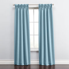 Madison Room-Darkening Pinch-Pleat Panel, Set of 2,