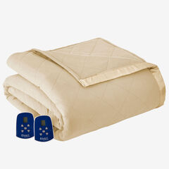 Micro Flannel® Electric Blanket, CHINO