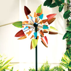 Multicolor Lawn Spinner,