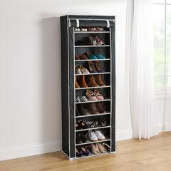 Eve Single Shoe Rack, BLACK