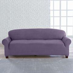 BrylaneHome® Studio Vera Stretch Velvet Extra-Long Sofa Slipcover,
