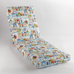 "84"" Chaise Cushion, BAYCOVE CABANA"