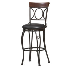 "Bar Stool, 17""Wx19¾""Dx46""H,"
