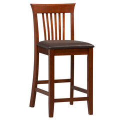 "Triena Collection Craftsman Center Stool, 24""H,"