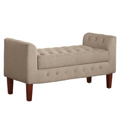 Elyse Tufted Storage Bench,