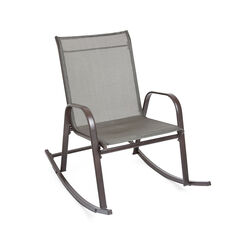 Extra Wide Outdoor Rocking Chair,