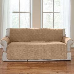 Plush Ultimate Sofa Protector, CAMEL