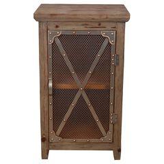 Chicken Wire Cabinet,