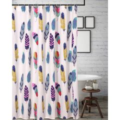 Dream Catcher Teal Shower Curtain by Greenland Home Fashions,