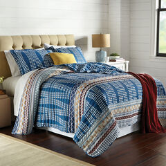 BH Studio Cora 4-Pc. Quilt Set, BLUE MULTI