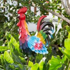 Metal Rooster,