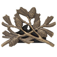 Pinecone Hose Holder,