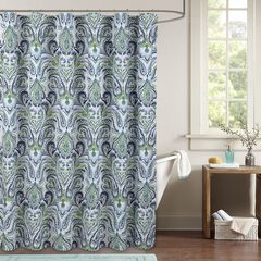 Provence Paisley Shower Curtain,