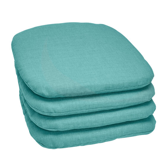Set of 4 Stacking Chair Pads,