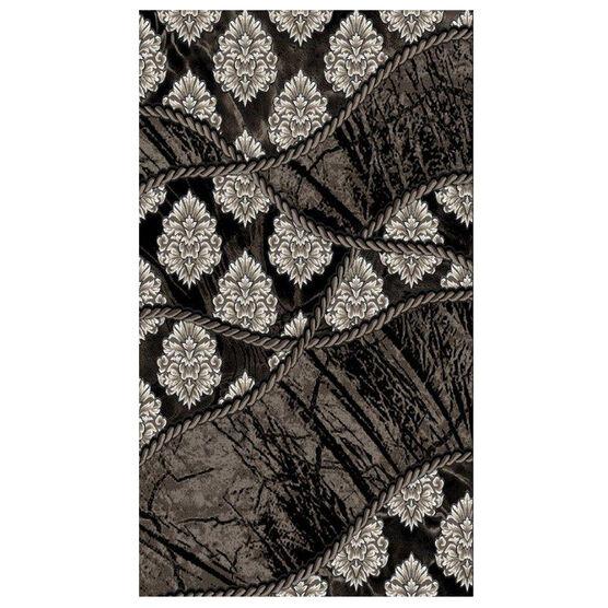 Jewel 8' x 10' Area Rug, BROWN BLACK