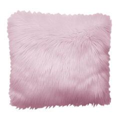 Plush Accent Pillow, LIGHT PINK
