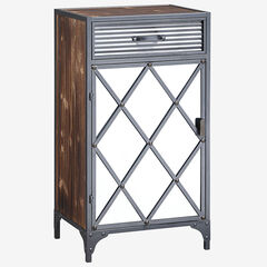 Trent Collection Mirrored Cabinet,
