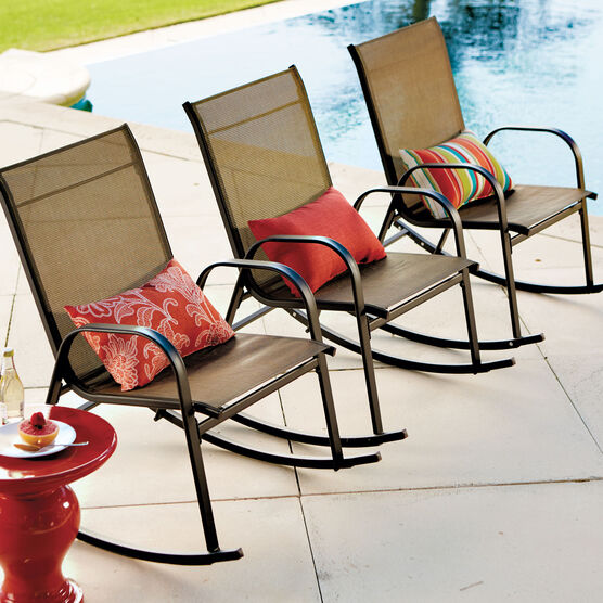 Extra Wide Outdoor Rocking Chair Plus Size Outdoor Chairs