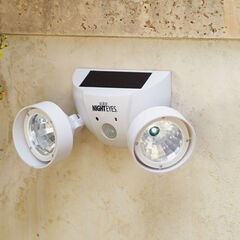 Solar Night Eyes™ Security Lights with Alarm,