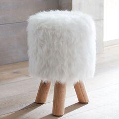 Tae Fuzzy Footstool,