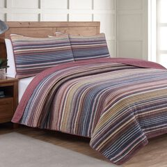Estate Collection Taj Comforter, BERRY