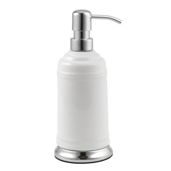 Isabella Lotion Pump, WHITE CHROME
